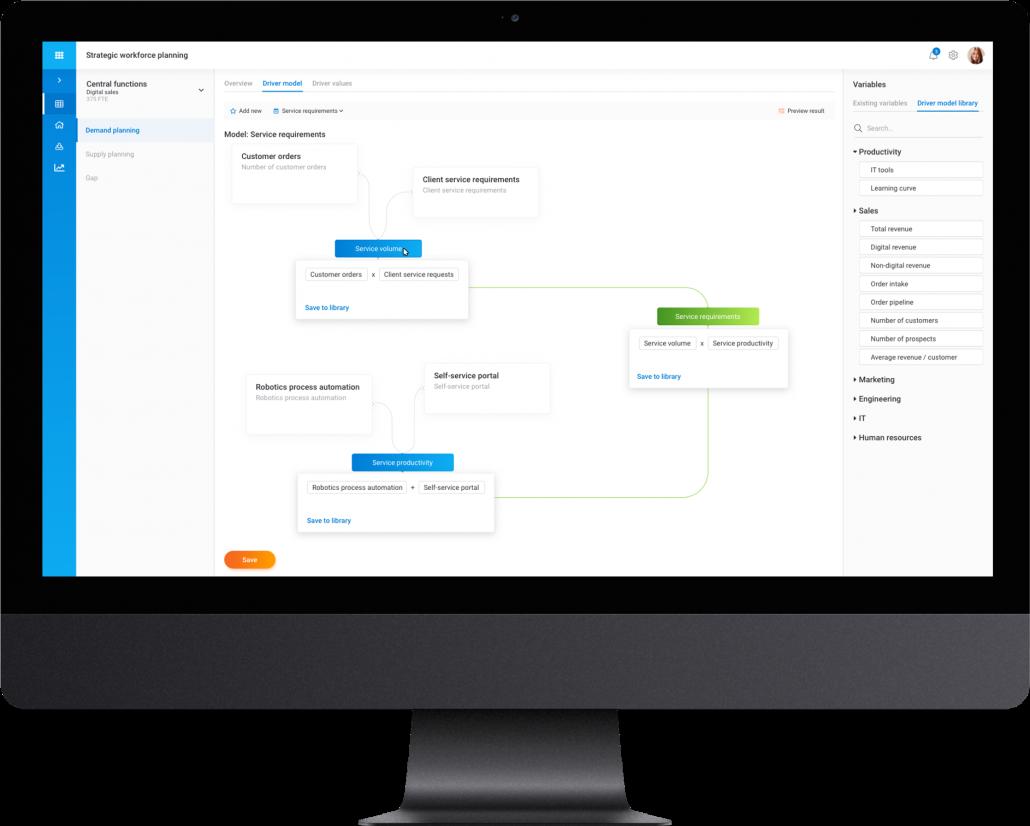 smartPlan – Strategic Workforce Planning Tool – HRForecast